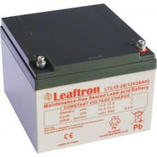 akumulátor Leaftron LTL12-28 (12V/28Ah)