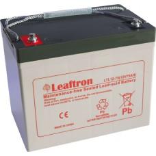 akumulátor Leaftron LTL12-75 (12V/75Ah)