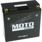 Motobaterie Motostart MS-YT14B-BS