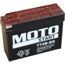 Motobaterie Motostart MS-YT4B-BS