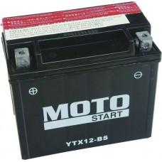 Motobaterie Motostart MS-YTX12-BS