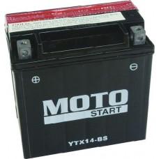 Motobaterie Motostart MS-YTX14-BS