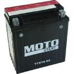 Motobaterie Motostart MS-YTX16-BS