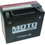 Motobaterie Motostart MS-YTX20L-BS