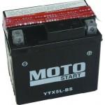 Motobaterie Motostart MS-YTX5L-BS