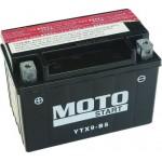 Motobaterie Motostart MS-YTX9-BS