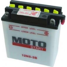 Motobaterie Motostart MSE-12N5-3B