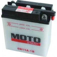 Motobaterie Motostart MSE-6N11A-1B