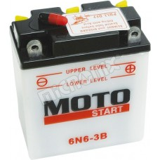 Motobaterie Motostart MSE-6N6-3B