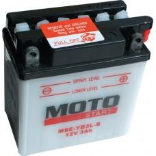 Motobaterie Motostart MSE-YB3L-B