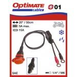 O01 / SAE-71 příslušenství k Accumate a Optimate - očka / vodotěsná zásuvka