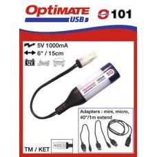 O101 příslušenství k Accumate a Optimate - TM univerzální USB nabíječka