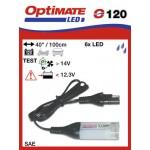 O120 příslušenství k Accumate a Optimate - SAE svítilna a kontrola stavu dobíjení akumulátoru