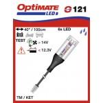 O121 příslušenství k Accumate a Optimate - TM svítilna a kontrola stavu dobíjení akumulátoru
