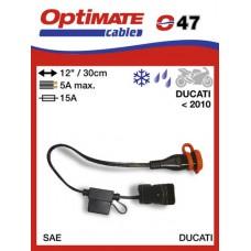 O47 příslušenství k Accumate a Optimate – Ducati adaptér