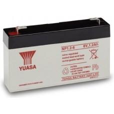 akumulátor Yuasa NP1,2-6 (6V/1,2Ah)