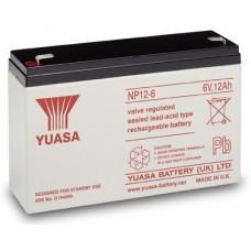akumulátor Yuasa NP12-6 (6V/12Ah)