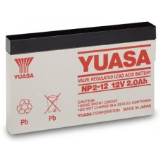 akumulátor Yuasa NP2-12 (12V/2Ah)