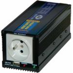 Měnič napětí z 24V DC na 230V AC 300W trvale+USB