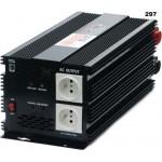 Měnič napětí z 24V DC na 230V AC 2500W trvale