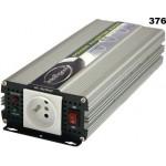 Měnič napětí z 24V DC na 230V AC 600W sinus