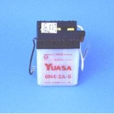 Motobaterie Yuasa 4Ah / 6V  6N4-2A-5