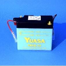 Motobaterie Yuasa 4Ah / 6V  6N4B-2A