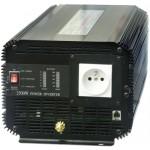 Měnič napětí z 12V DC na 230V AC 2500W trvale