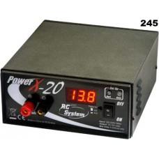 Měnič napětí z 230V AC na 12V DC 20A trvale