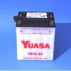 Motobaterie Yuasa YB14A-A1(A2)