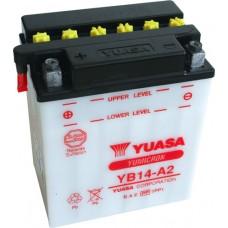 Motobaterie Yuasa YB14-A2